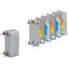 Schimbatoare de caldura freon -apa in placi 40(placi)